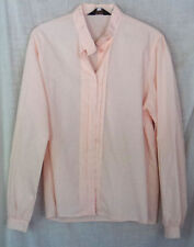 Boundary Waters Pink Shirt Size 16 Long Sleeve Button Down