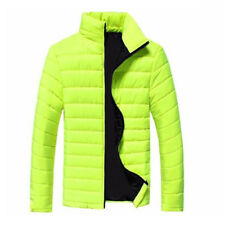 Men Stylish Winter Hooded Thick Padded Jacket Zipper Outwear Coat Warm Blouse DS