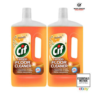 Cif Floor Expert Deep Clean and Multipurpose Floor Cleaner 1L Wood Pack of 2