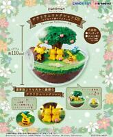 Re-Ment Pokemon Terrarium Collection DX Pikachu in Sunny Forest Japan