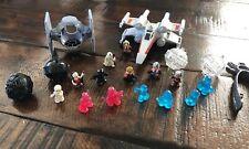 Star Wars Squinkies Figures Fighter Pods X-Wing Tie Fighter Darth Vader Luke
