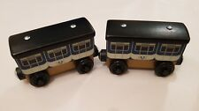 Thomas The Tank & Friends WOODEN WOOD STEPHEN'S COACH'S COACH X2 POST DISCOUNT