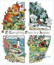 "NEW Cross Stitch Kits""Four Seasons"""