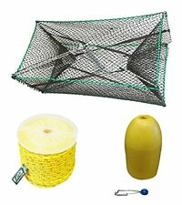 Galvanized Steel Foldable Prawn Trap COMBO (S32+PP4+TW10+F11Y+HB5)