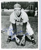 Autographed Alex Grammas 8x10 Photo MLB St. Louis Cardinals w/coa jh8x10