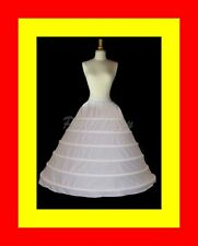 Huge 6-Hoop Wedding Gown Bridal Dress Costume Crinoline Petticoat Slip Skirt