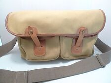LIDDESDALE CAMERA BAG WITH PADDED & REMOVABLE INSERTS -RARE- MADE IN  SCOTLAND