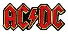 AC/DC  Logo Rock Music Official Iron On Applique Patch p0483