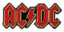 AC/DC  Logo Rock Music Official Iron On Applique Patch p0483