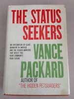 Signed VANCE PACKARD ~ THE STATUS SEEKERS 1959 hardcover SIGNED