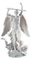 """Saint Michel Angel L'Archange Statue by Francisque-Joseph Duret Replica 14.5"""""""