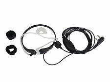 Throat Mic Earpiece Headset Headphone PTT Baofeng UV-3R Plus Kenwood 2-pin Type