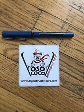 Skiing Sticker, Ski Tours Sticker, Argentina Sticker, Vintage, Snowboard Sticker