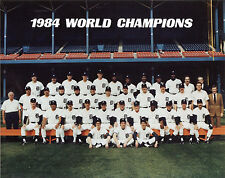 Detroit Tigers 1984 MLB Champions, 8x10 Color Photo