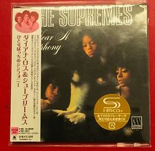 SUPER RARE JAPANESE CARD IMPORT CD I HEAR A SYMPHONY THE SUPREMES OUT OF BOXSET
