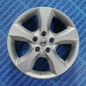 Cerchi in lega 635 da 17 5x114 per Nissan Qashqai Juke Pulsar Leaf X-Trail
