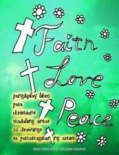 Pangkulay Libro para Christians Madaling Antas 20 Drawings Sa Pamamagitan Ng...