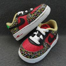Nike 5C 21 Toddler AF1 Air Force 1 Sneaker Banana Strawberry Uni Red CU4693-600