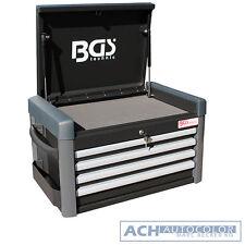 BGS Werkstattwagen-Aufsatz für Werkstattwagen PROFI | 4 Schubladen | leer – 4112