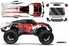 RC Body Graphics Kit Decal Sticker Wrap For Vaterra Halix Monster Truck CRBNX R