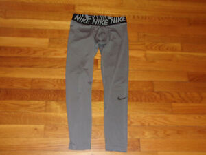 NIKE DRI-FIT COMPRESSION TIGHTS BOYS LARGE 14-16 EXCELLENT CONDITION