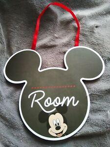 Primark Disney Mickey Mouse Hanging Plaque