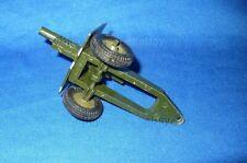 VINTAGE TOY SOLDIER BRITAINS 9705 25 POUNDER FIELD GUN CANNON ARTILLERY DIECAST