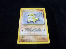 Sandshrew Basic 1999 Pokémon Card 62/102