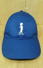 Otto the Gecko from Geico Insurance Hat strap back blue lizard white blue