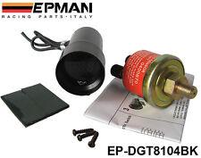 Manometre de pression d' Huile PSI EPMAN Micro 37mm Digital NOIR ETANCHE