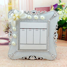 Cute Home Switch Cover Square Shape Switch Wall Light Socket Stickers Room Decor
