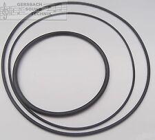 Riemensatz Saba TG 454,464...674, Rundriemen Rubber drive belt kit