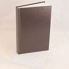 "5.5""x8.5"" Unlined Refill Book for Oberon Design Large Leather Journal or Any Use"