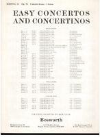 Rieding: Konzert Für Violine, Viola Oder Violoncello E Klavier - Bosworth