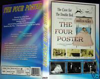 THE FOUR POSTER - DVD - REX HARRISON & LILLI PALMER
