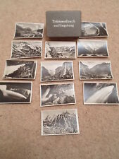 VINTAGE 12 Real Photo Snaps - TRUMMELBACH UND UMBEBUNG ~ SMALL B+W Old Photos