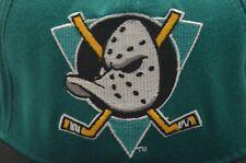 RARE Anaheim Mighty Ducks Logo Snapback Hat (Copyright Disney)