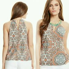 NWT Guess by Marciano stone embellishments Talitha Tile-Print Tank top size S