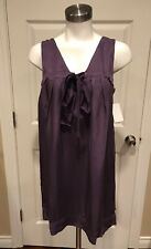 Ella Moss Purple Sleeveless Shift Dress, Size Medium