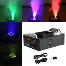 1500W Smoke Fog Machine Vertical UP-Spray 24 RGB LED DMX 512 Stage w/ Remote