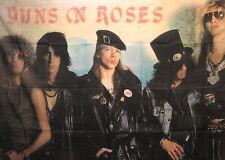 """Guns N' Roses Large Vintage Flag Wall Banner Uk Import """"Group"""""""