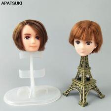 Soft Plastic High Quality DIY Doll Head For Licca Boy Doll Head For 1/6 BJD Doll