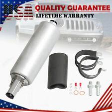 GSL392 Universal 255LPH Inline High Flow & Pressure External Fuel Pump w/ Kit