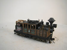 Old Historic Logging Climax Locomotive - DCC & Sound - custom weathered - HO