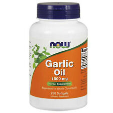 Garlic Oil 250 Sgels 1500 mg by Now Foods