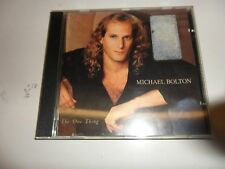 CD The One Thing di Michael Bolton (1993)