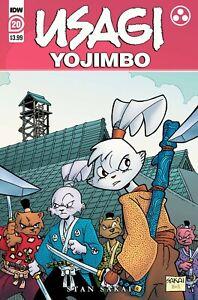 USAGI YOJIMBO #1-20 | Select A & 1:10 Incentive Covers | IDW Comics 2021 NM