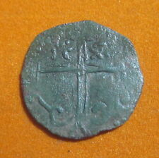 *Rare* Bulgaria King Ivan Alexander 1331.AD Christ Star Cross Flowers (BEA)