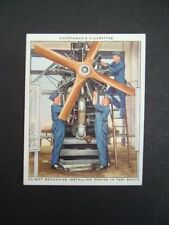 Churchman - RAF At Work (1938) - Card # 18. Flight Mechanics / Engine Test Bench