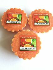 3- Yankee Candle FRUIT FUSION TART WAX MELT- HARDER TO FIND SCENT